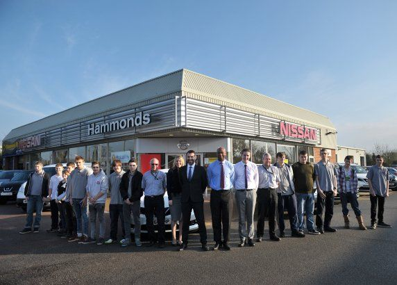 Hammond Motor Group Welcomes Trainee Apprentices