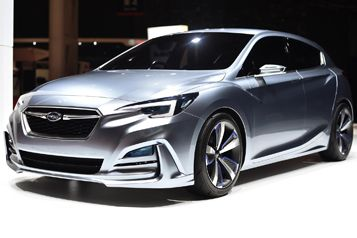 Subaru design concept previews styling of next-generation Impreza