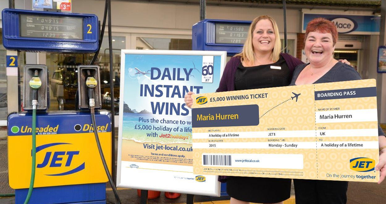 Halesworth resident wins holiday of a lifetime in JET's nationwide competition