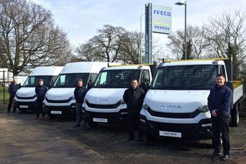 Iveco Daily arrives at Hammond Commercial Vehicle Centre in Halesworth