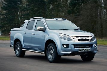 Centenary-themed D-Max goes straight to the top of the range
