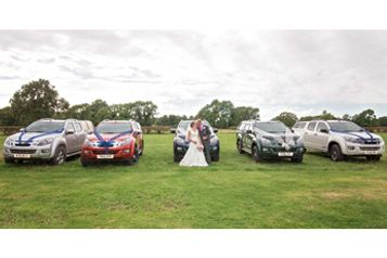 Yorkshire Bride Rejects Wedding Car In Favour Of The Perfect Pick-Up