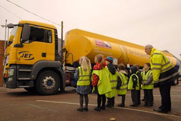 Halesworth Pupils Get A 'Hands On' Road Safety Lesson Thanks To JET