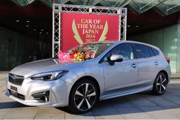 All-New Subaru Impreza Wins 2016–2017 Car Of The Year Japan