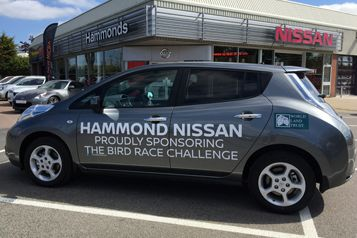Nissan LEAF Charges Up For Bird Race Challenge