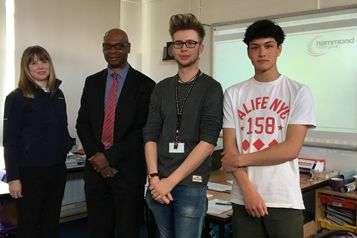 Hammond Motor Group Enlightens Bungay Sixth Form