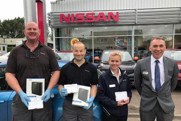 Success At Hammond Nissan. - Hammond Group, Halesworth, Suffolk