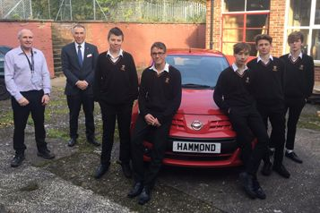 Hammond Nissan Donates Car To The Next Generation Of Technicians.