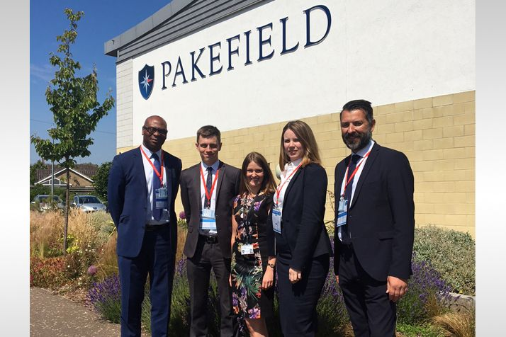 An Invaluable Experience For Pakefield Students.