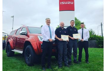 Britain's Best Technician At Hammond Isuzu