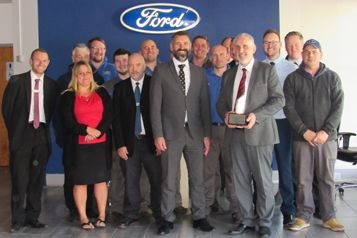 AW&D Hammond Wins Top Ford Award Again