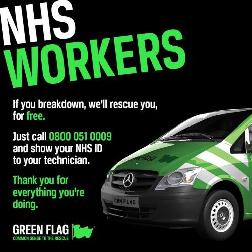 Hammond Recovery works with Green Flag to help the NHS