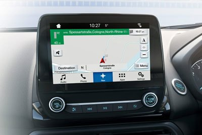 Ford New Ecosport - Apple CarPlay & Android Auto