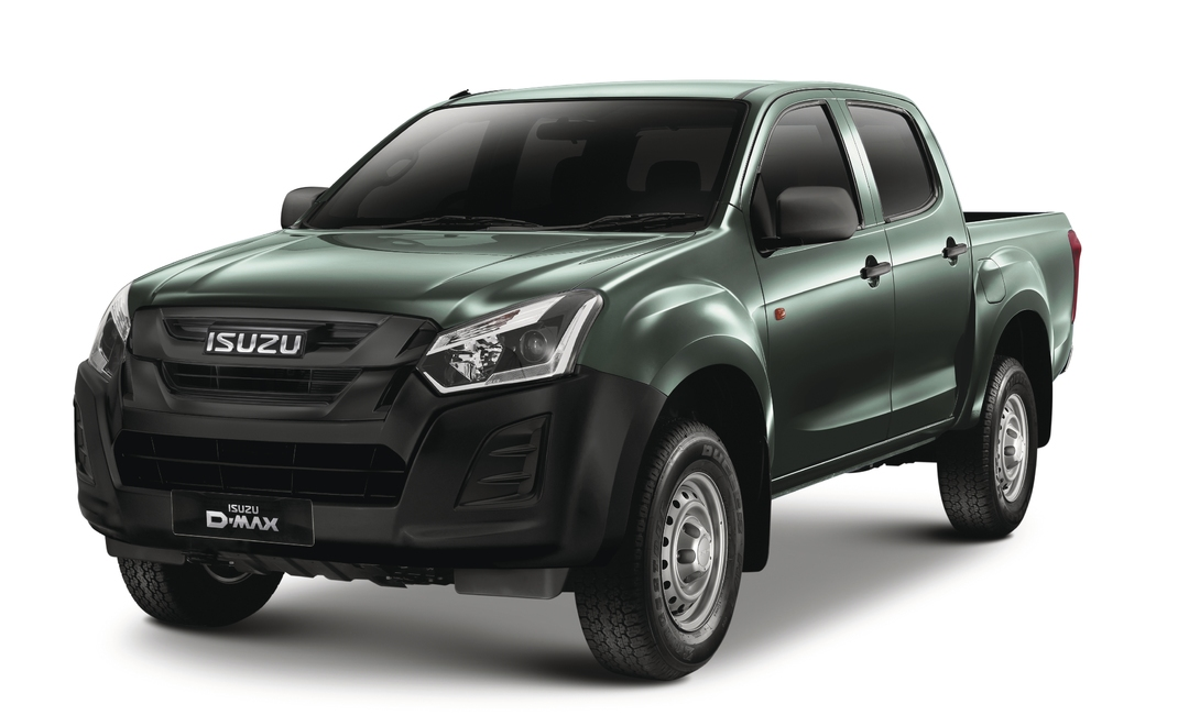 Isuzu Utility - Available In Tundra Green